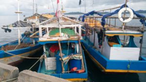 12 Kapal Ikan Yang ditangkap Direktorat Polair Polda Papua Barat