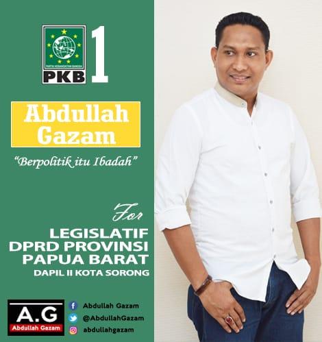 Abdullah Gazam, Ketua PKB Papua Barat