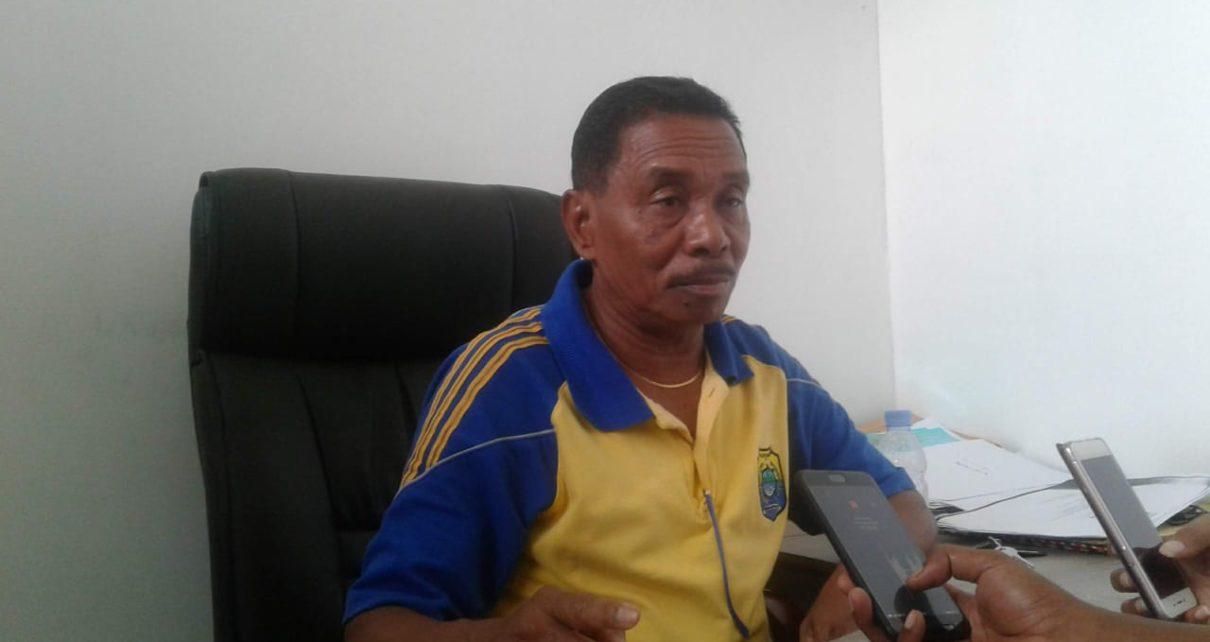 Agustinus Lewerissa, Kepala Dinas Pendidikan Kabupaten Tambrauw/(foto: Trisatrisnah)