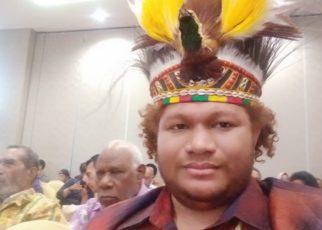 Ketua Dewan Adat Papua (DAP) Wilayah III Domberay, Paul Finsen Mayor,S.IP