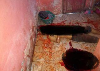 Sopir Hilux Agus Arianto (28) Nekat Bunuh diri di Rumah Kontrakan Hj Asma Kompleks Pasar Sentral, Teluk Bintuni, Kamis (30/8/2018)