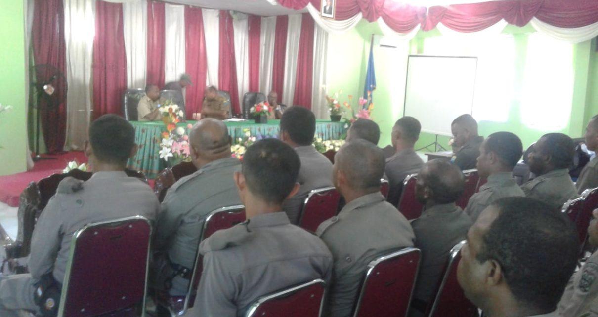 Para CPNS mendapat pengarahan dan pembinaan dari Sekda Kabupaten Tambrauw/(foto: Trisatrisnah)