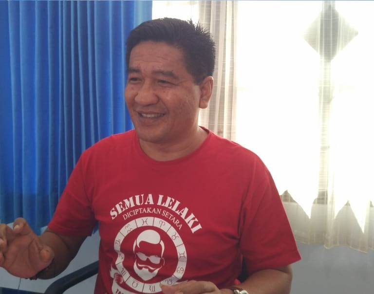 Junaidi Rison, Kepala LAPAS kelas IIb Sorong/(foto: Djunaedi)