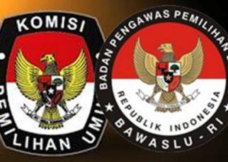 Logo KPU dan BAWASLU