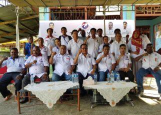 DPW Partai Perindo Menggelar Konsolidasi Caleg DPR-RI, DPR-PB Dapil V dan DPRD Kabupaten Teluk Bintuni di Bintuni, Senin (15/10/2018)