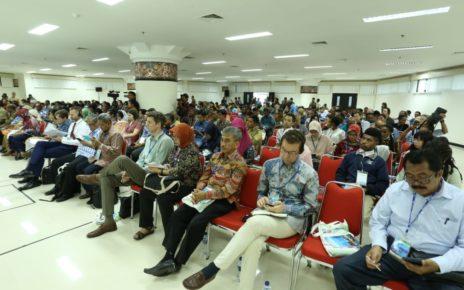 Peserta ICBE Tahun 2018 di Ruang Kasuari, Lantai 1 Kantor Gubernur Papua Barat, Senin (8/10/2018)
