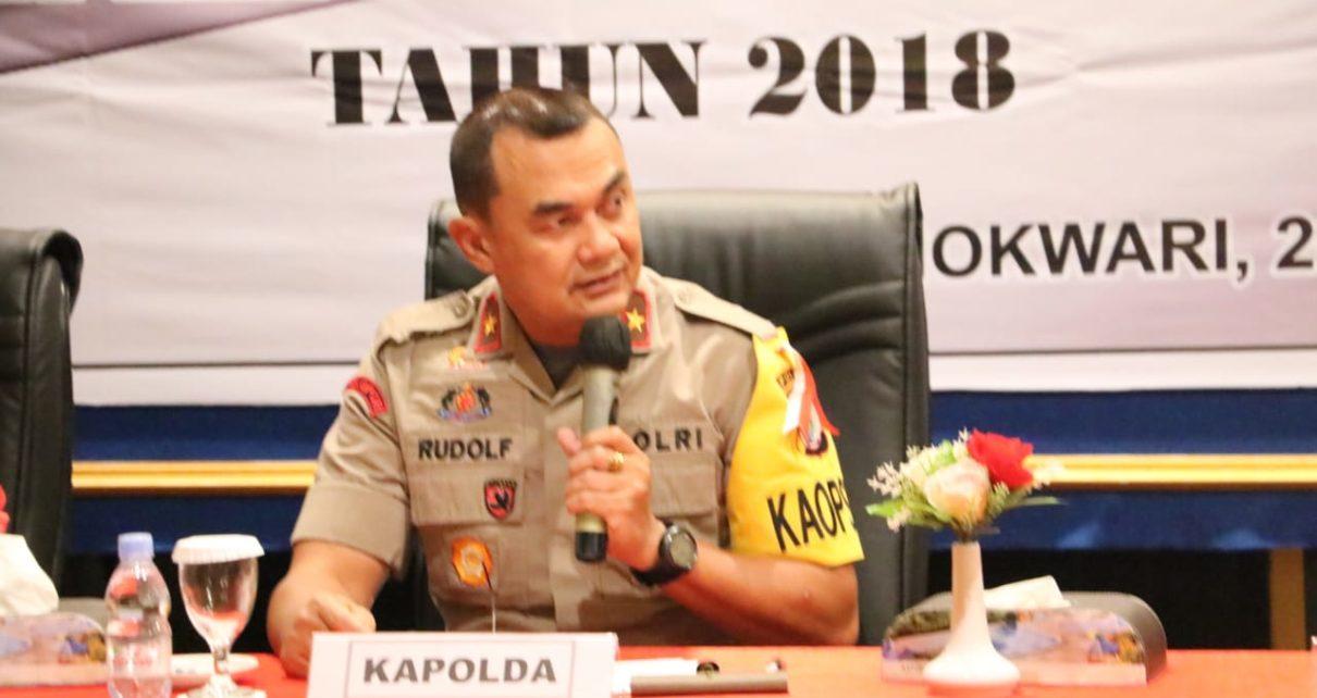 Kapolda PB, Brigjen Pol Drs Rudolf A. Rodja