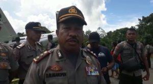 Kapolres Mamberamo Raya, AKBP Dominggus Rumaropen,S.Sos