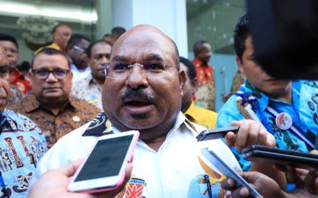 Gubernur Papua, Lukas Enembe,S.IP.,M.H/ Foto : Heiven Him