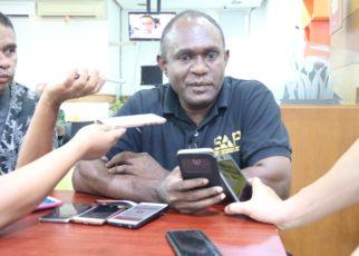 Pendiri KAPP, Ferdinan Okoseray / Foto : Heiven Him