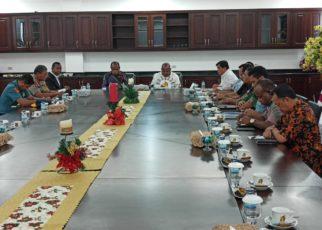 Pertemuan Terbatas Forkopimda Provinsi Papua Membahas terkait persoalan konflik Nduga di Jayapura, Jumat (28/12/2018)/ Foto : Heiven Him