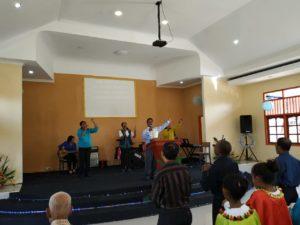 Pujian dan Penyembahan Natal GBI Bukit Sabda Bahagia Sorong