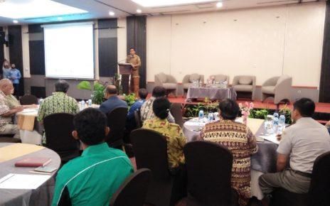Suasana forum kerja ekonomi dan pembangunan di hotel Aston Kota Jayapura, Senin (10/12/2018)