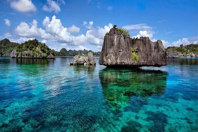Surga Tropis Kepulauan Pulau Misool, Kabupaten Raja Ampat [sumber foto google]