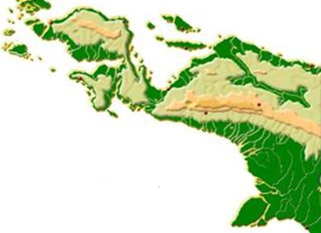 Gambar Peta Tanah Papua