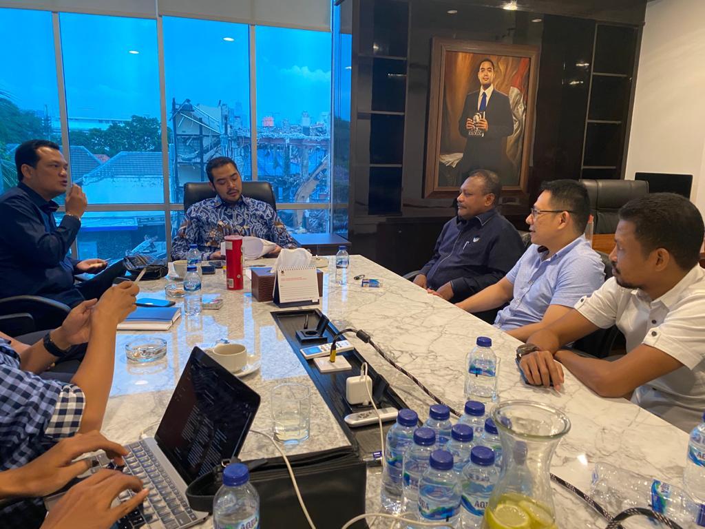 Rapat Pengurus Partai Nasdem. [foto: dok-sr]